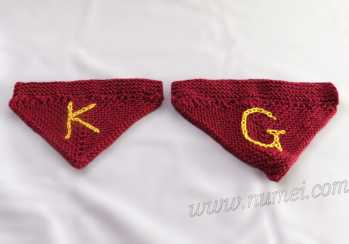 Knitting Pattern: Dog Bandana