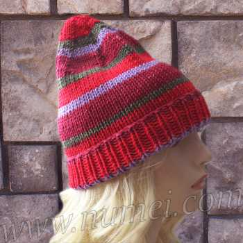 Knitting Pattern: Gnomie Hat