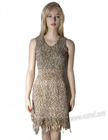 Knitting Pattern: Paulina Cocktail Dress