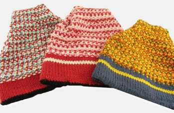 Knitting Pattern: Ski Hats