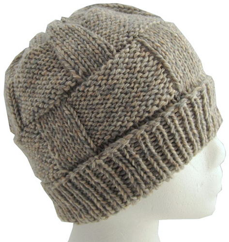 Knitting Pattern: Ryan Hat and Scarf Set