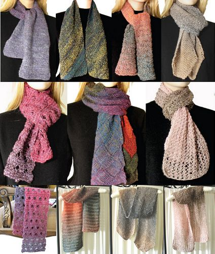 Knitting Pattern 7 Easy Scarves To Knit This Season
