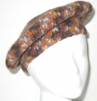 Free Crochet Pattern Felted Tam Beret