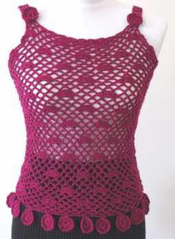 Free Crochet Pattern: Bella Camisole