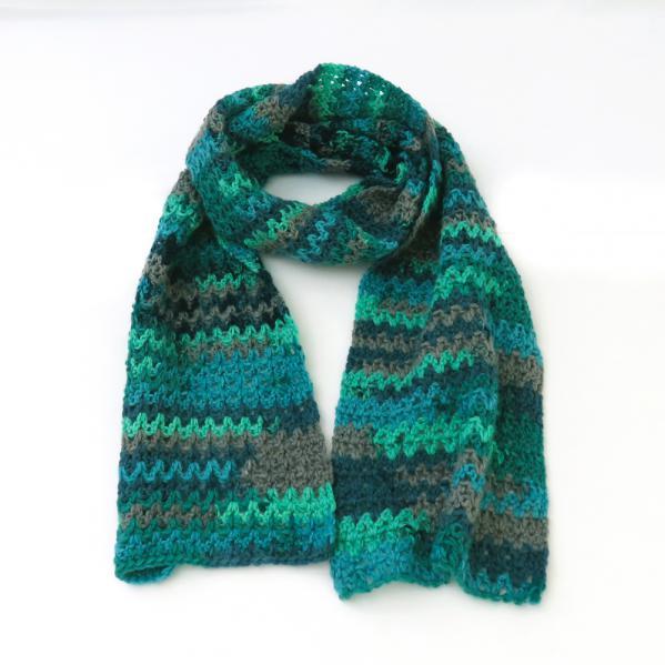 Free Crochet Pattern: Burlington Scarf