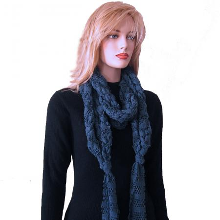 Free Crochet Pattern Jennie Arm Crochet Scarf