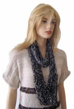 Free Crochet Pattern Ceri Infinity Scarf