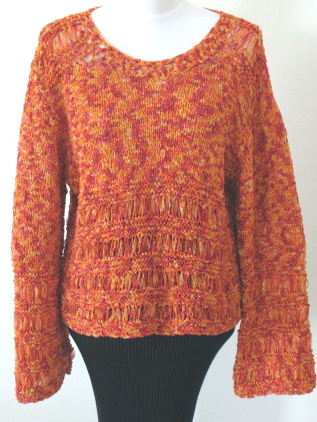 Knitting And Stitching Show Promotional Code : Free Knitting Pattern: Desire Drop-Stitch Pullover