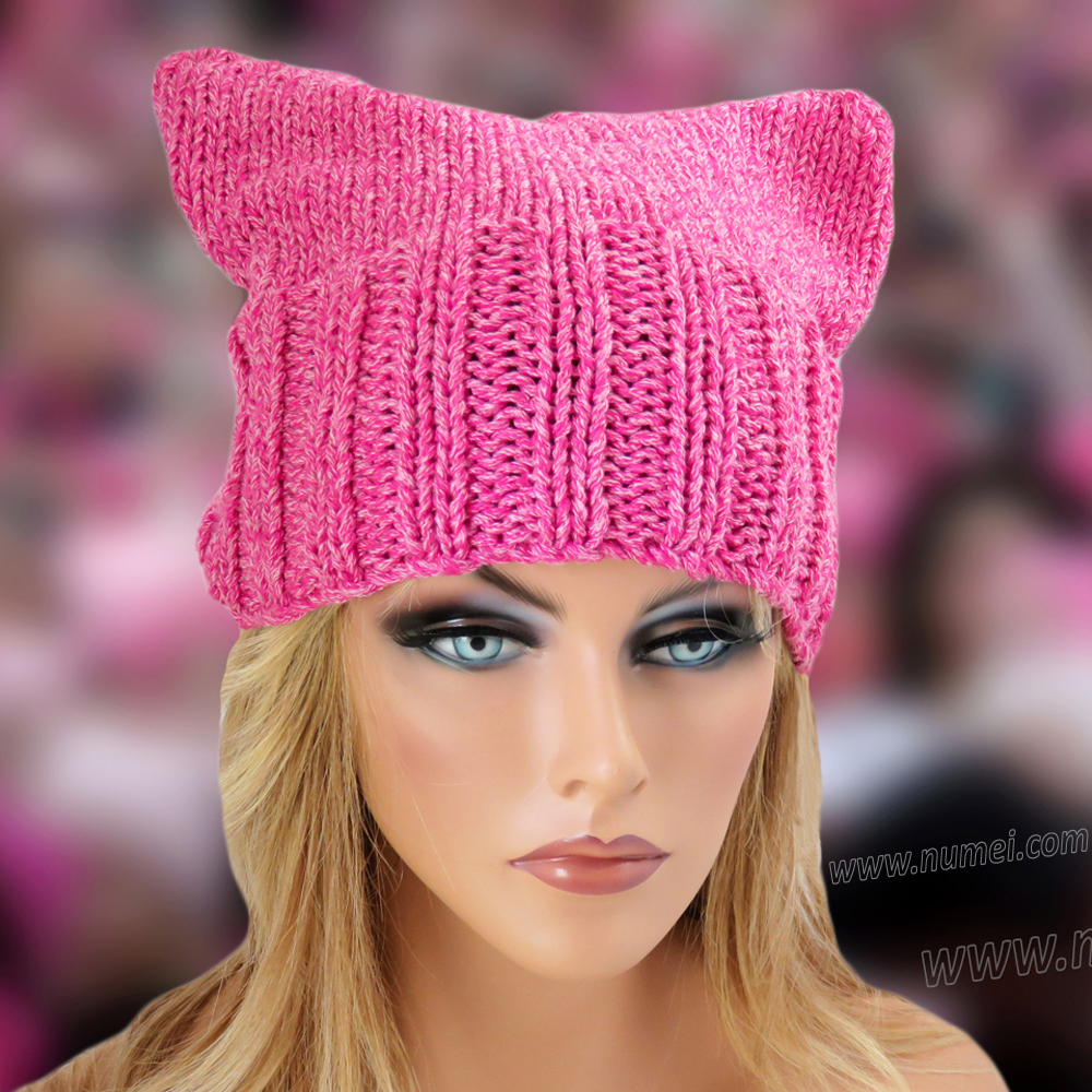 Free Knitting Pattern Cat Ears Hat Pattern 2