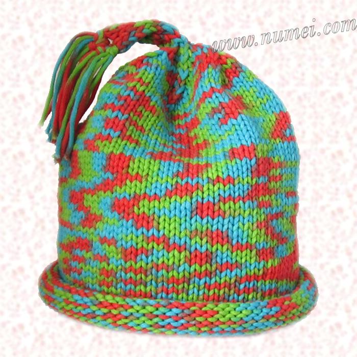Free Knitting Pattern Child Playtime Hat