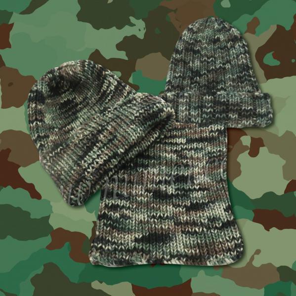 Camouflage Yarn