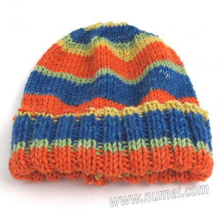 Free Knitting Pattern: Saltillo Hat (Knit on Straight Needles)