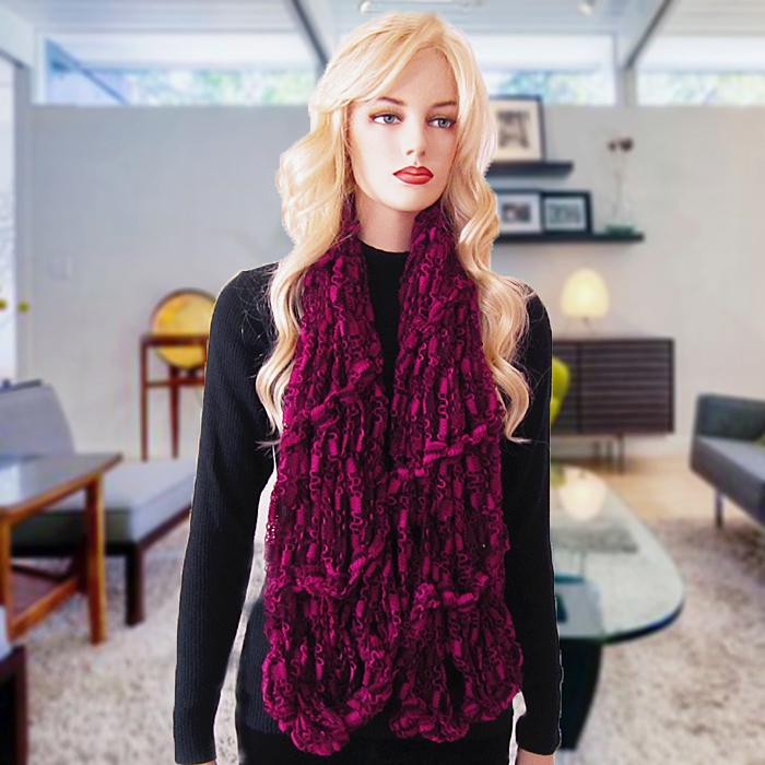 Free Knitting Pattern Milla Arm Knit Scarf