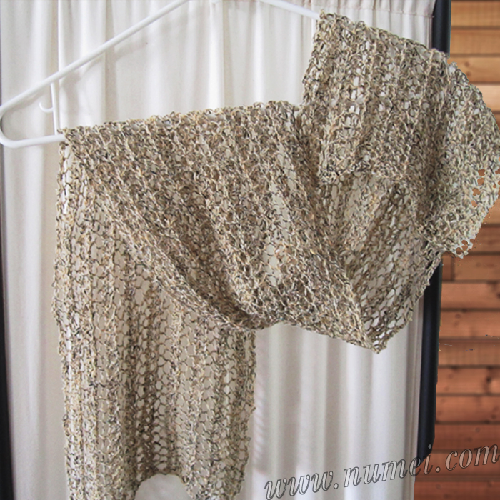Free Knitting Patterns To Print Off : Free Knitting Pattern: Tica Lacy Scarf