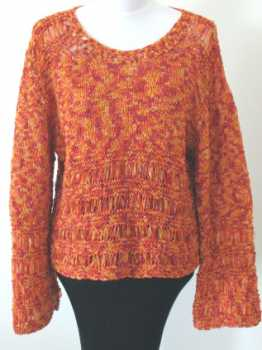 Free Knitting Pattern Desire Drop-Stitch Pullover