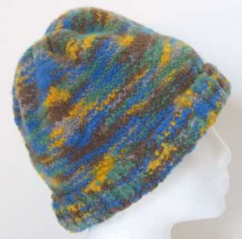 Felted Hat Knitting Pattern : Free Knitting Pattern: Venus Felt Hat