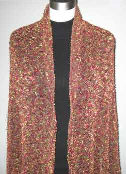 Free Knitting Pattern Stained Glass Shawl