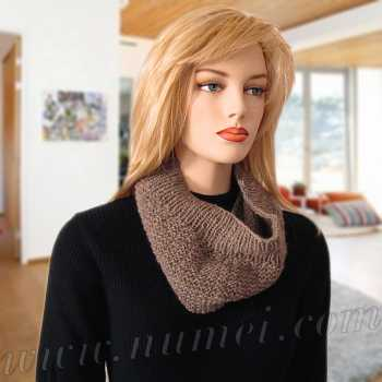Free Knitting Pattern: Nicola Textured Cowl