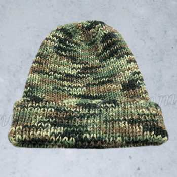 Free Knitting Pattern Camouflage Hat For Soldiers/Hunting