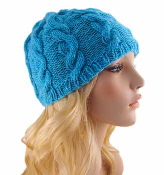 Free Knitting Pattern Ella Cable Hat