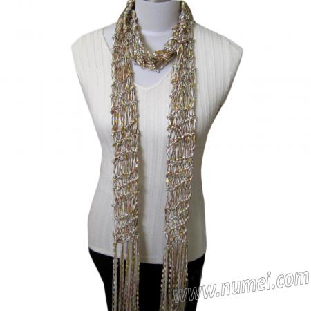 Free Knitting Pattern: Angela Drop Stitch Scarf