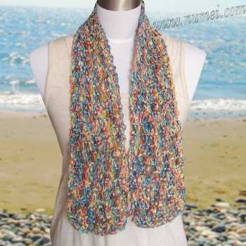 Free Knitting Pattern Bayside Scarf