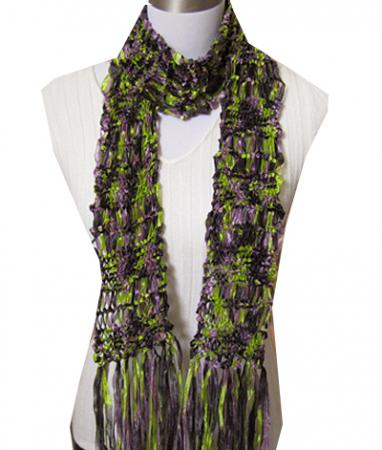 Laurel Drop Stitch Scarf