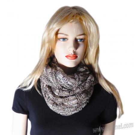 Free Pattern: No Knit Infinity Scarf