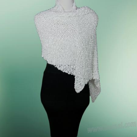 Free Knitting Pattern: Nantucket Wedding Shawl / Bridal Wrap