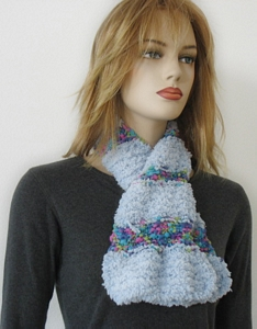 Free Knitting Pattern So Soft-Lantern Scarf
