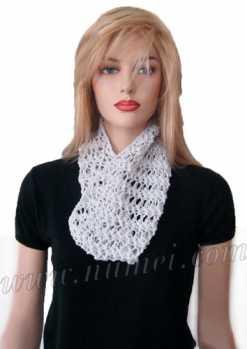 Free Knitting Pattern: Clarissa Lacy Cowl