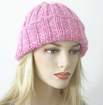 Free Knitting Pattern Toni Ribbed Hat