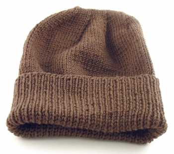 Free Knitting Pattern: Hat For Soldiers/Troops deployed to cold climates