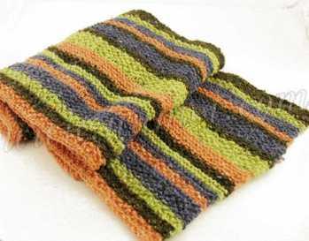 Free Knitting Pattern Bradley Scarf