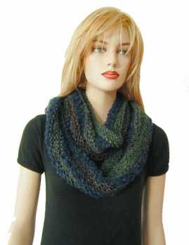 Free Knitting Pattern Donnie Scarf/Infinity Scarf