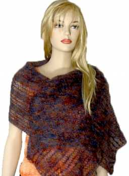 Free Knitting Pattern Ava Lacy Wrap/Shawl