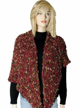Free Knitting Pattern Corona Prayer Shawl / Comfort Shawl