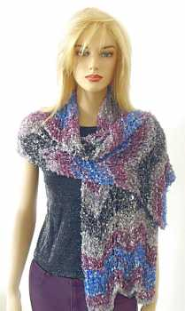 Free Knitting Pattern Fantina Evening Wrap