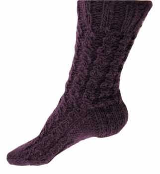 Free Knitting Pattern: Parklane Socks