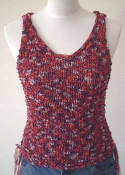 Free Knitting Pattern Montage Shell