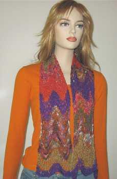 Free Knitting Pattern: Catena Ripple Scarf