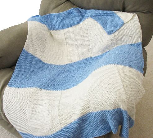 Free Knitting Pattern Aaron Baby Blanket