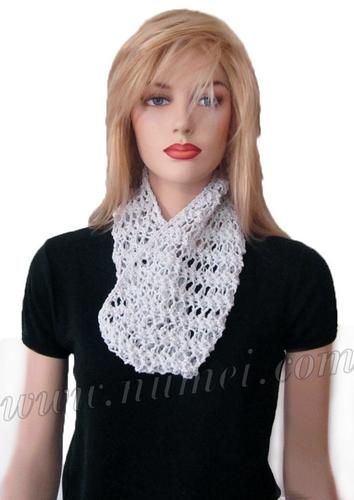 Free Knitting Pattern Clarissa Lacy Cowl