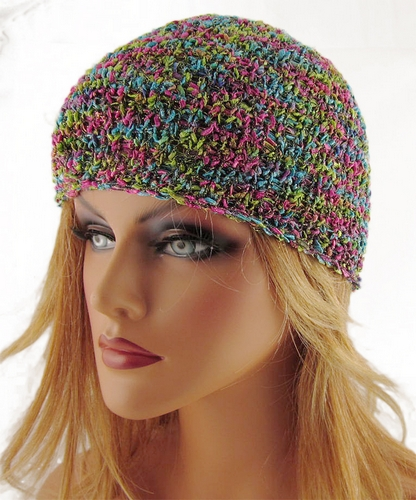 Minion Knitting Patterns : Free Knitting Pattern: Bianca Skull Cap/Beanie