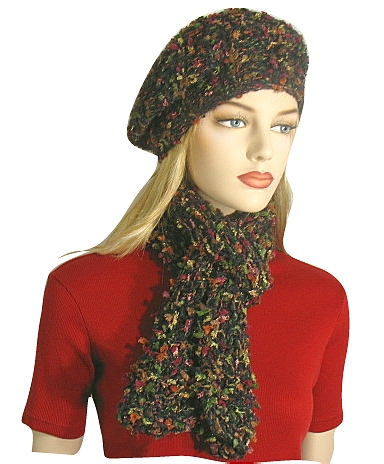 Free Knitting Pattern Clara Hat Beret