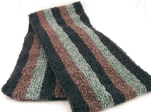 Free Knitting Pattern Ethan Scarf