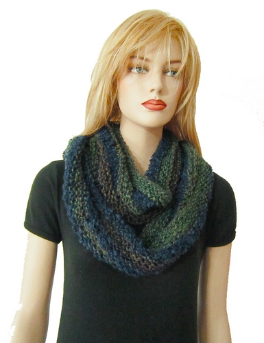 Free Knitting Pattern Donnie Scarfinfinity Scarf