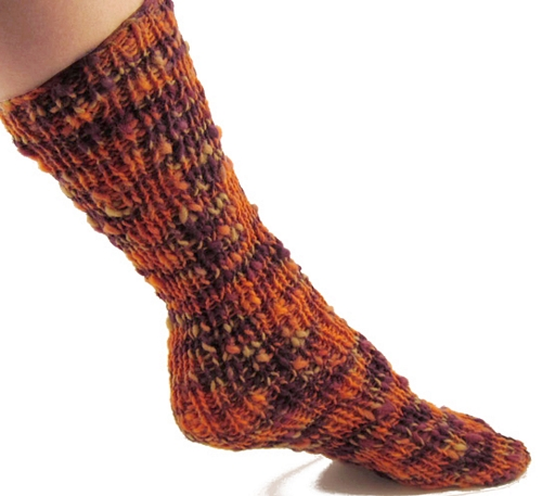 Free Knitting Pattern: Bristol Tubular Ribbed Socks