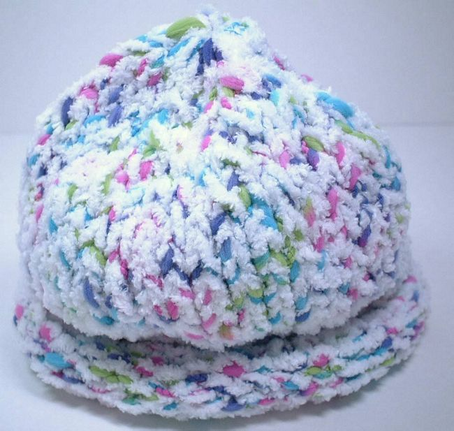 Free Knitting Pattern Simple Child Hat