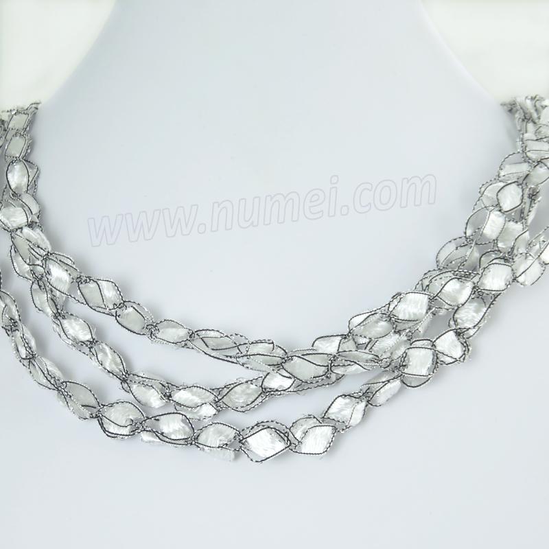 Handmade Ribbon Necklace ET10060
